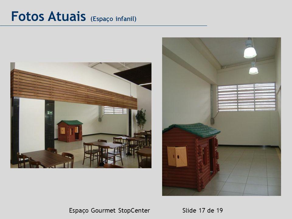 Espaço Gourmet StopCenter Slide 17 de 19 Fotos Atuais (Espaço infanil)