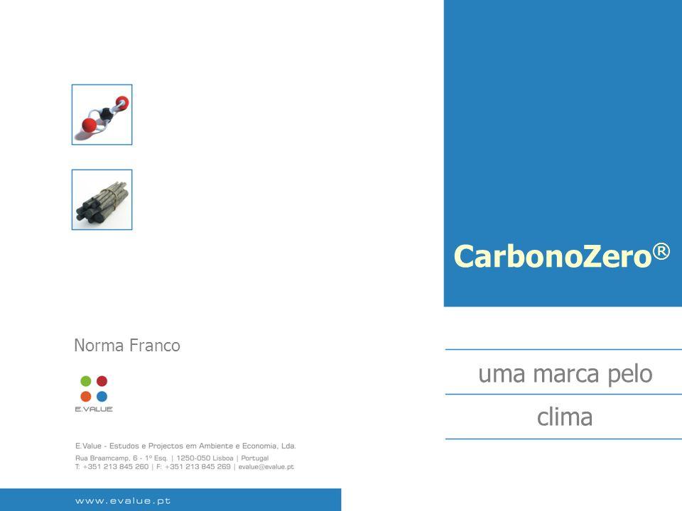 CarbonoZero ® uma marca pelo clima Norma Franco