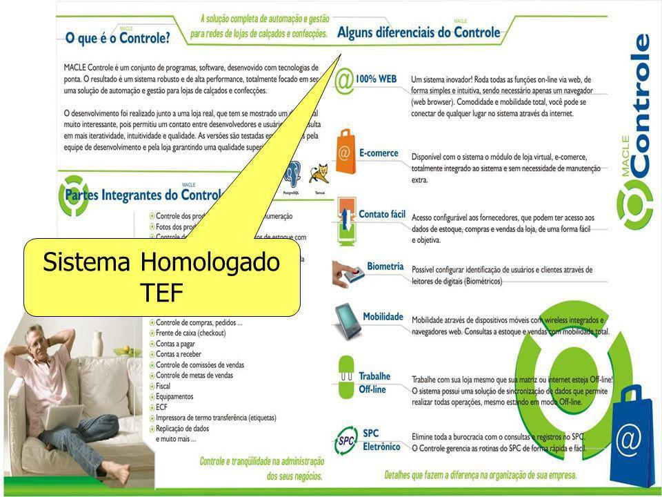 Sistema Homologado TEF