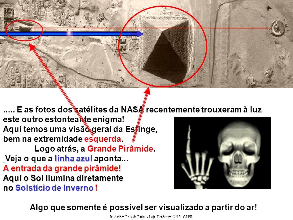 Ir:.Avides Reis de Faria - Loja Tiradentes Nº18 GLPR A ESFINGE A Esfinge não foi construida com blocos quadrados, como as pirâmides e templos os quais guarda, mas esculpida na rocha bruta (monolítica).