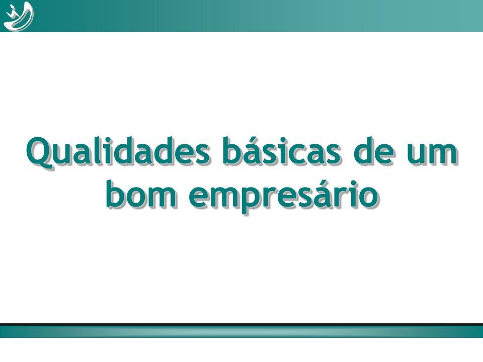 Qualidades básicas de um bom empresário