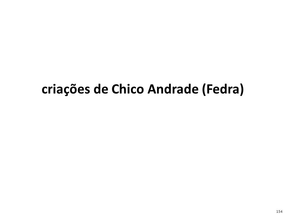 FEDRA é o apelido acróstico de Francisco Eduardo Del Rio Andrade, Chico Andrade.