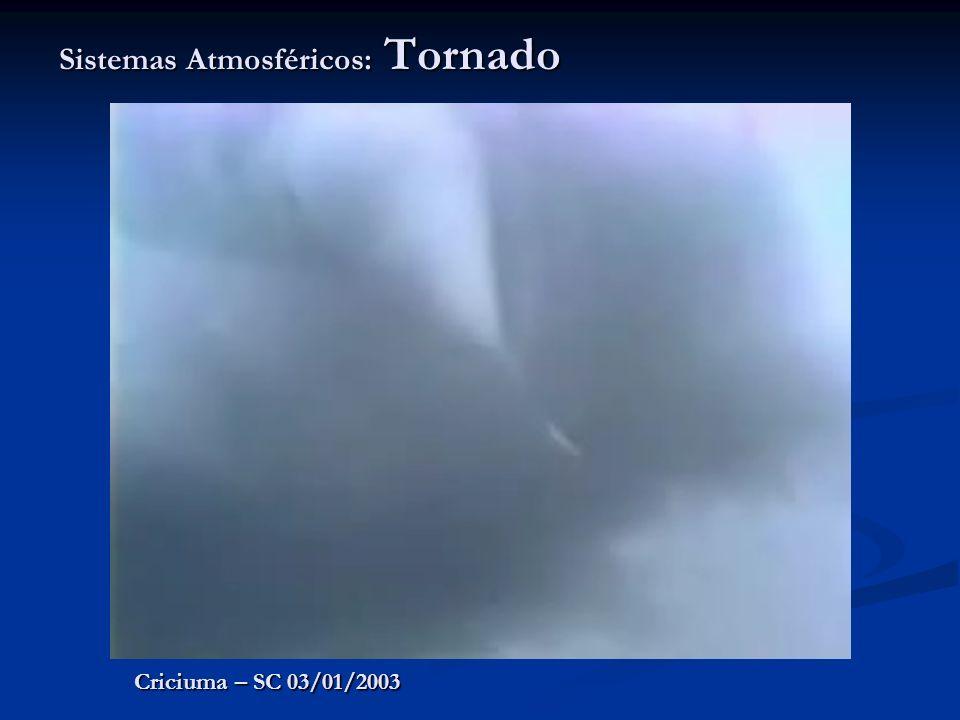 Sistemas Atmosféricos: Tornado Criciuma – SC 03/01/2003