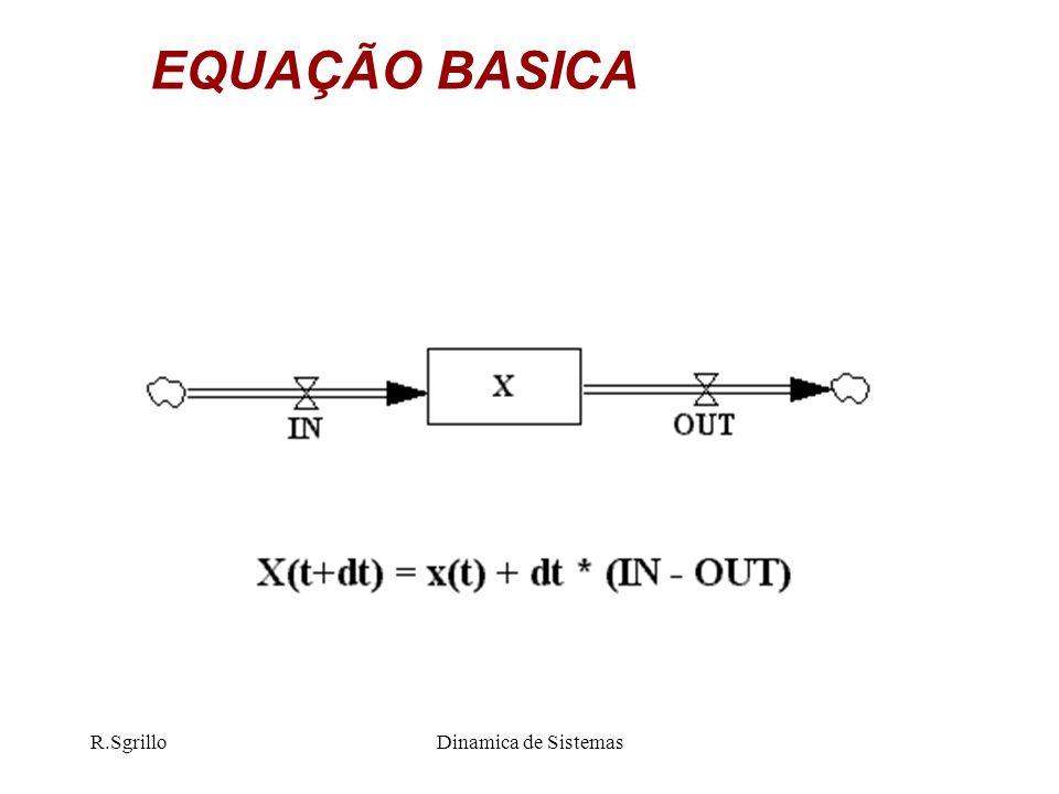 R.SgrilloDinamica de Sistemas EQUAÇÃO BASICA