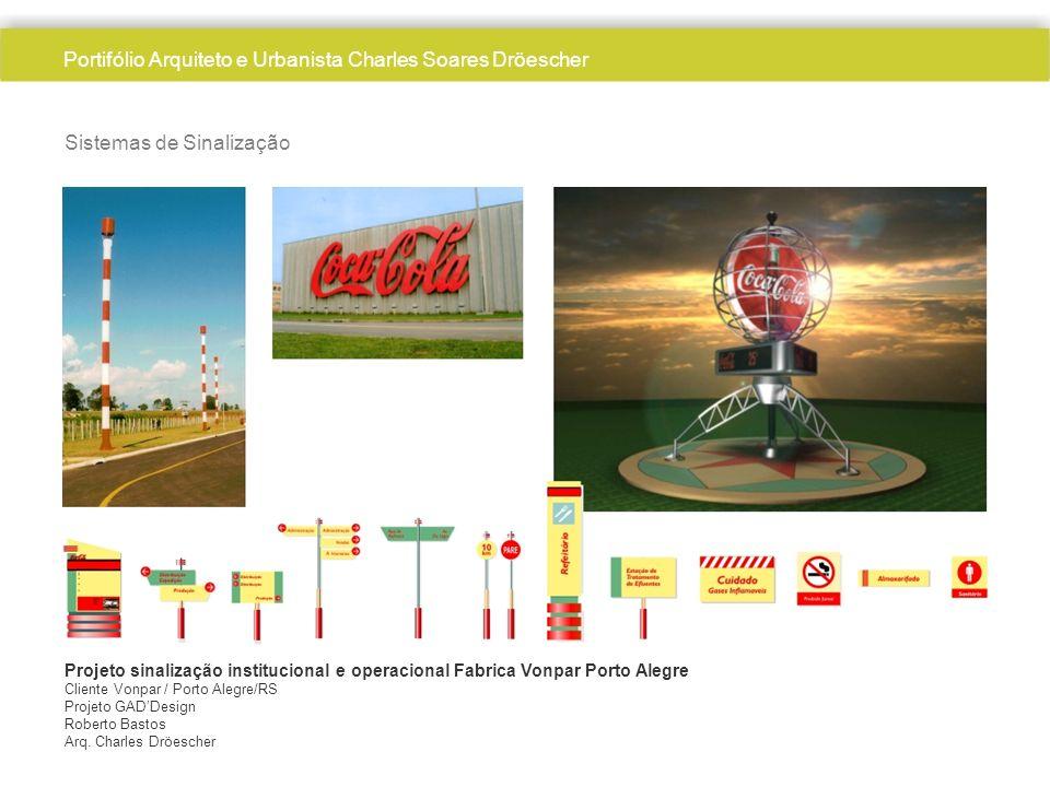 Sistemas de Sinalização Projeto sinalização institucional e operacional Fabrica Vonpar Porto Alegre Cliente Vonpar / Porto Alegre/RS Projeto GADDesign