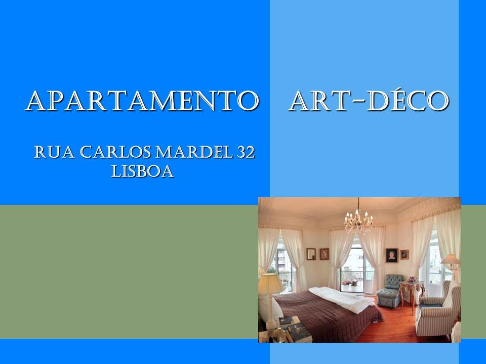 Apartamento Art-Déco Rua Carlos Mardel 32 Lisboa