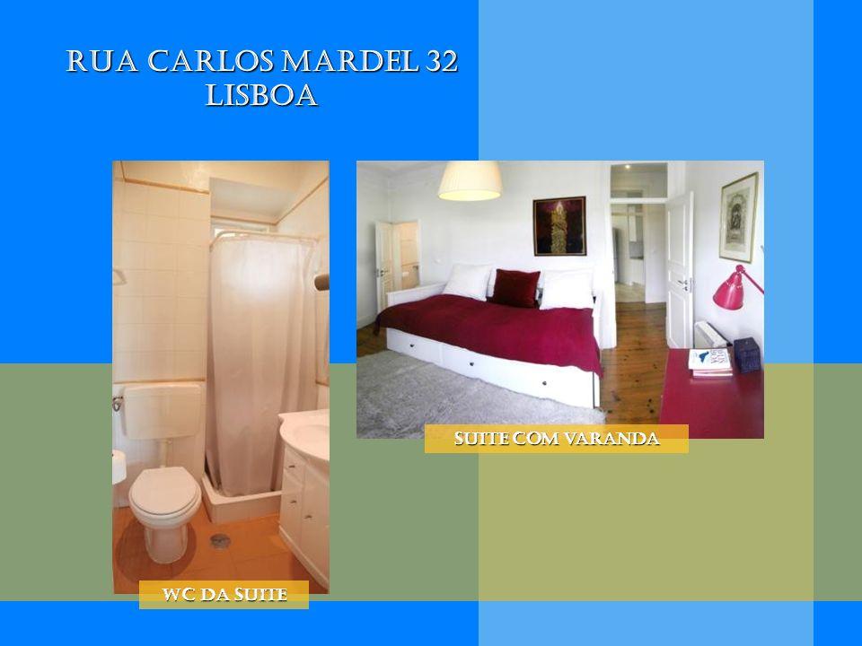 Rua Carlos Mardel 32 Lisboa WC da Suite Suite com varanda