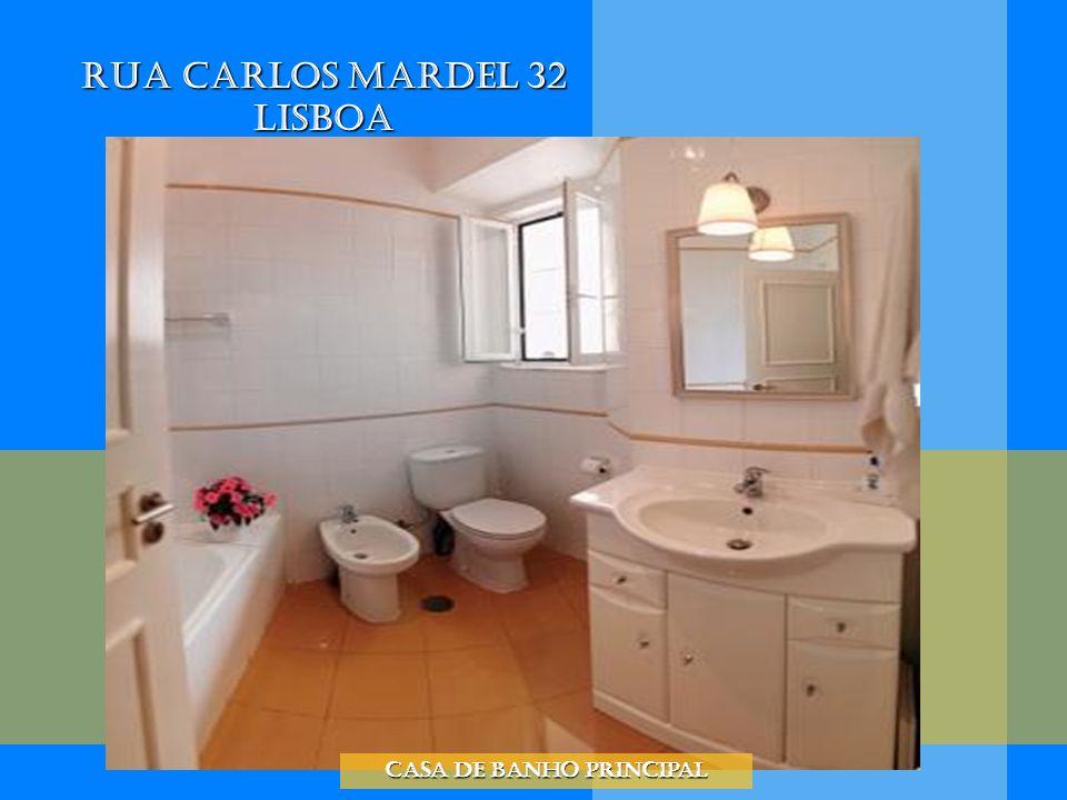Rua Carlos Mardel 32 Lisboa Casa de banho principal