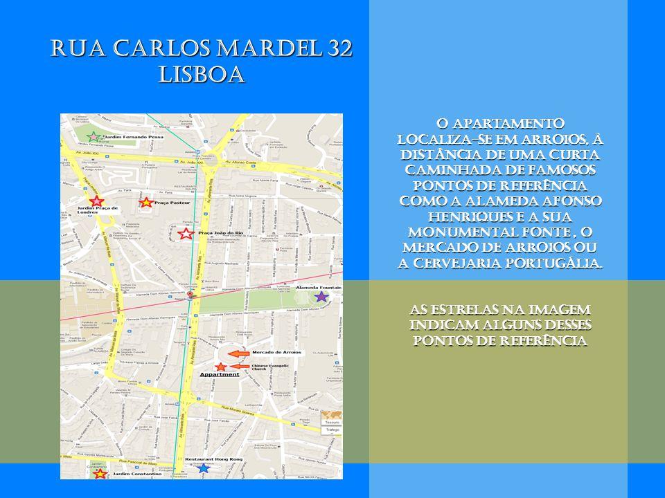 O apartamento localiza-se em arroios, à distância de uma curta caminhada de famosos pontos de referência como a Alameda Afonso Henriques e a sua monum
