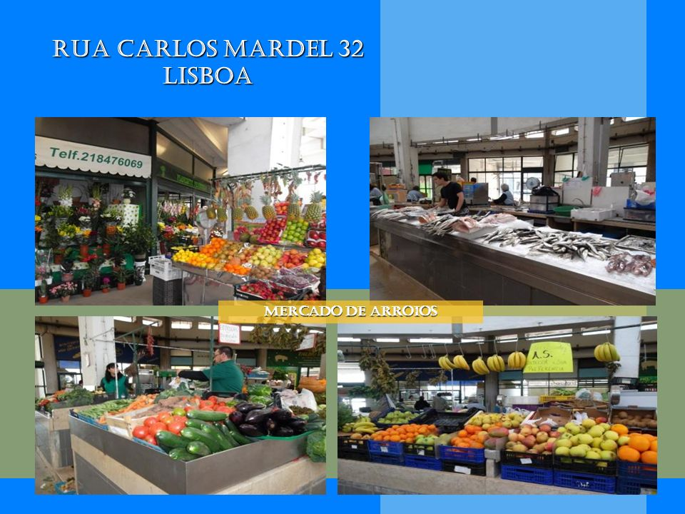 Rua Carlos Mardel 32 Lisboa Mercado de Arroios