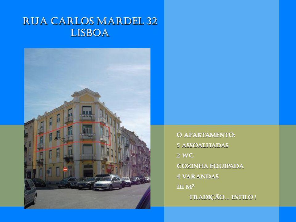 O apartamento: 5 assoalhadas 2 wc Cozinha equipada 4 varandas 111 m 2 Tradição… estilo !