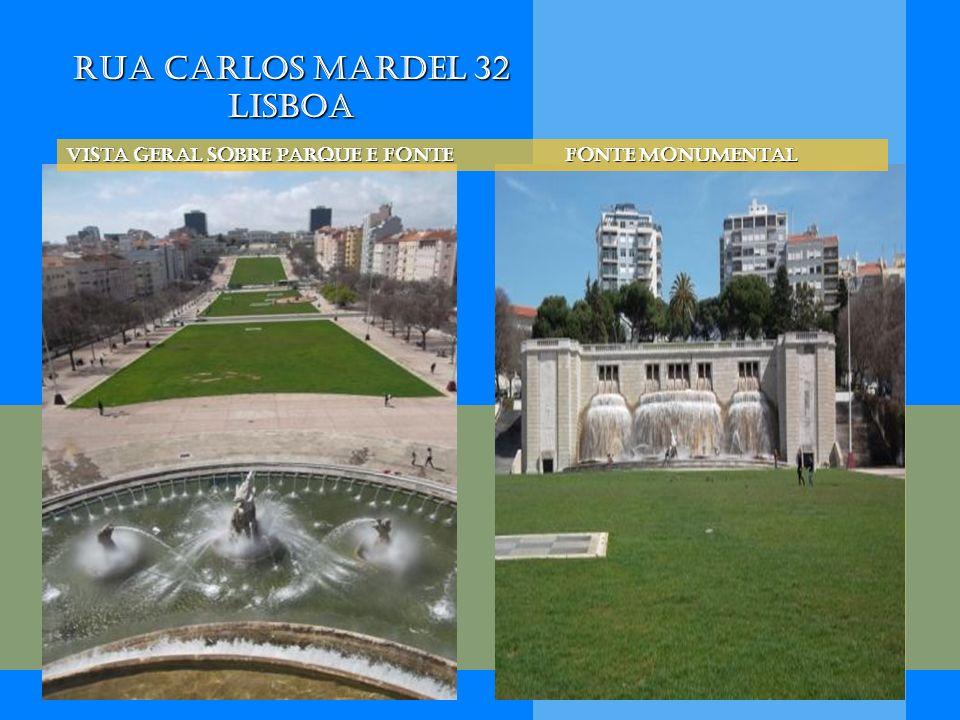 Rua Carlos Mardel 32 Lisboa Vista geral sobre parque e Fonte Fonte Monumental