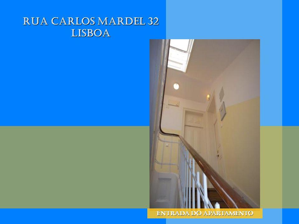 Rua Carlos Mardel 32 Lisboa Entrada do apartamento