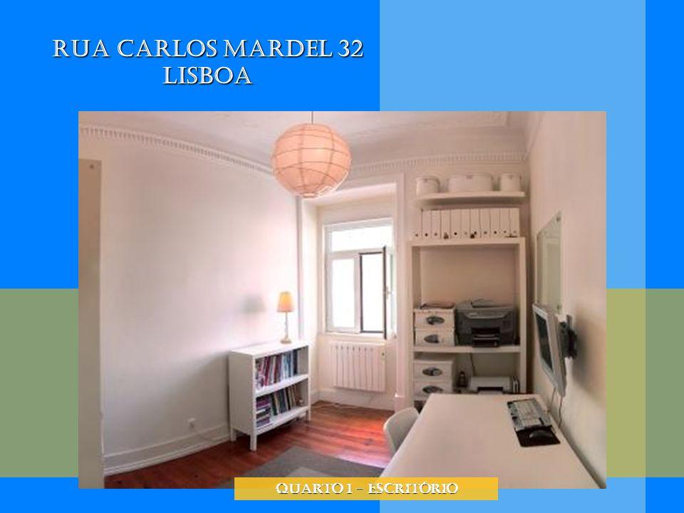 Rua Carlos Mardel 32 Lisboa quarto 1 - escritório