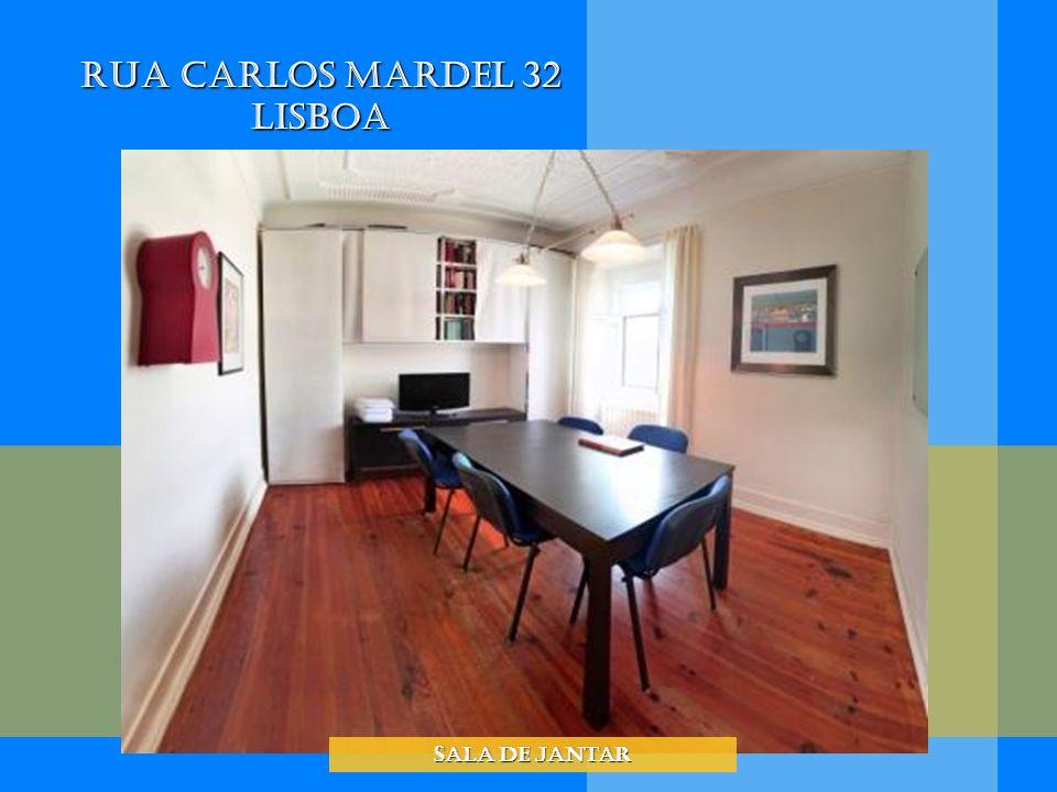 Rua Carlos Mardel 32 Lisboa Sala de Jantar