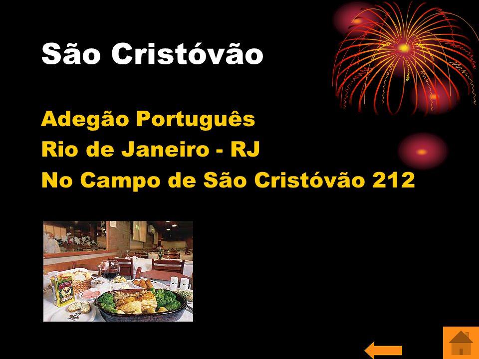 São Cristóvão Adegão Português Rio de Janeiro - RJ No Campo de São Cristóvão 212
