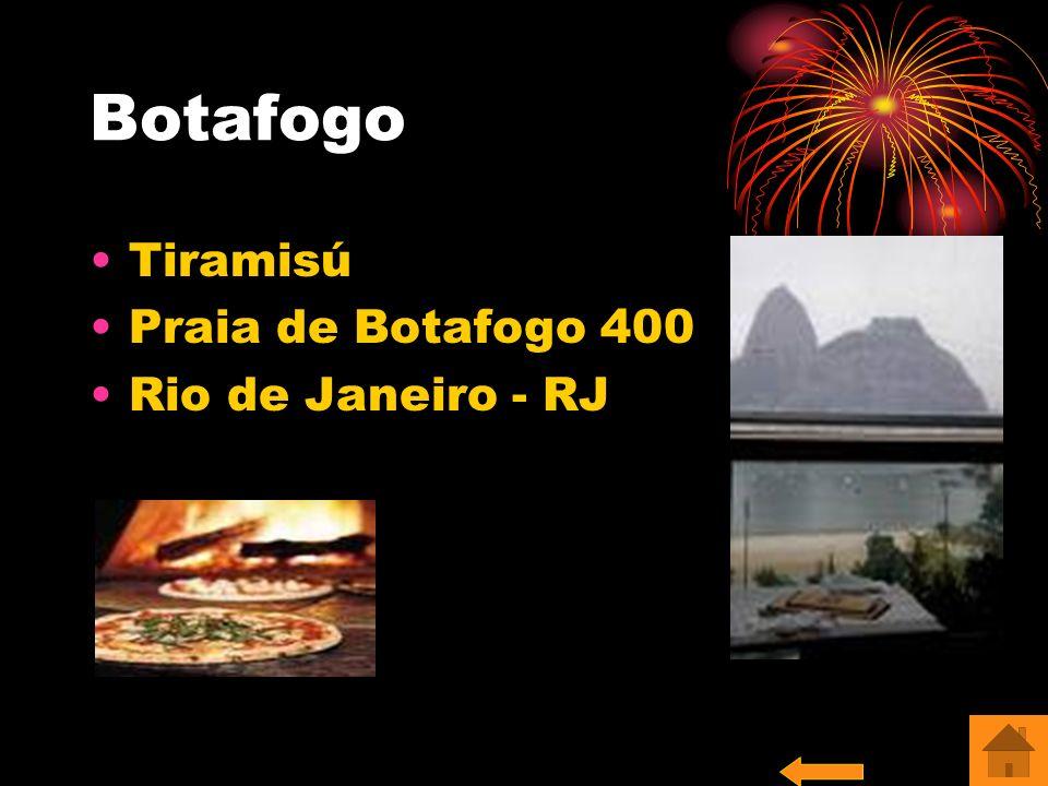 Botafogo Tiramisú Praia de Botafogo 400 Rio de Janeiro - RJ