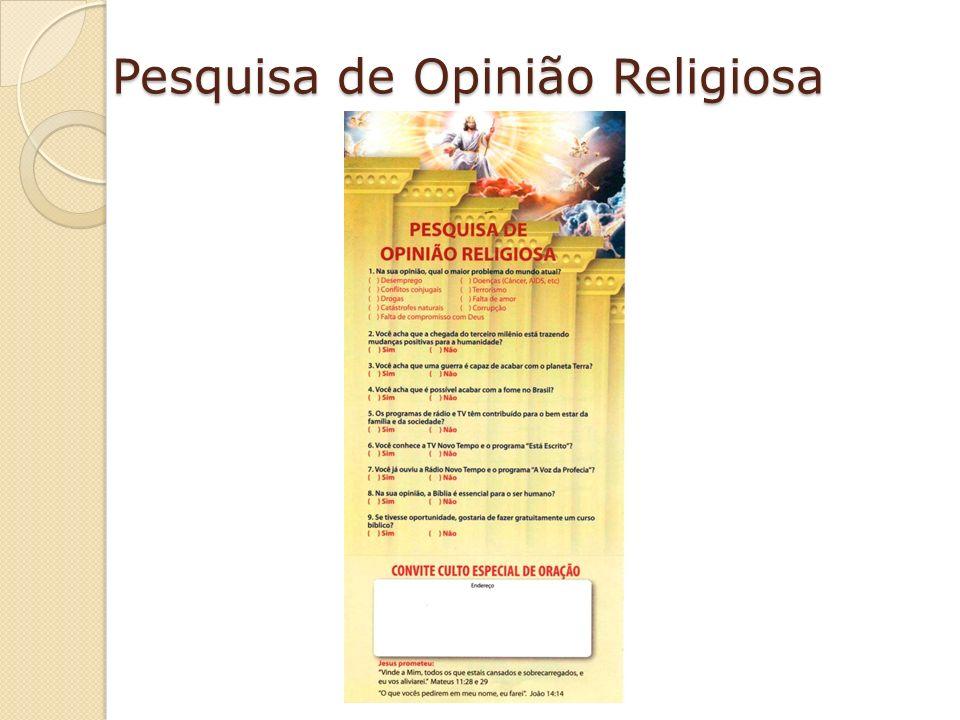 Pesquisa de Opinião Religiosa