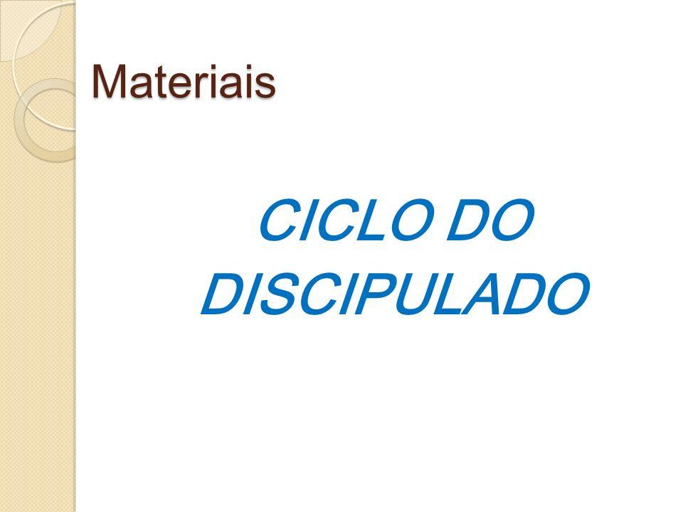 Materiais CICLO DO DISCIPULADO