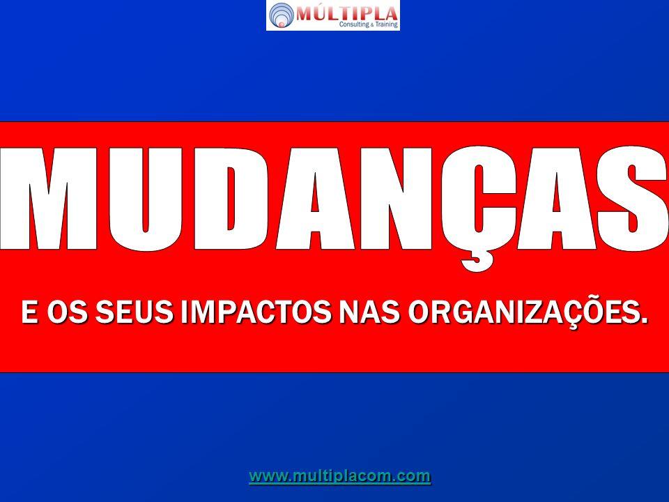 E OS SEUS IMPACTOS NAS ORGANIZAÇÕES. www.multiplacom.com
