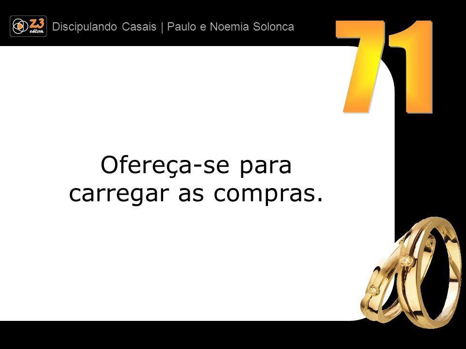 Discipulando Casais | Paulo e Noemia Solonca Ofereça-se para carregar as compras.