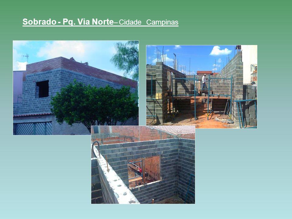 Sobrado - Pq. Via Norte – Cidade Campinas