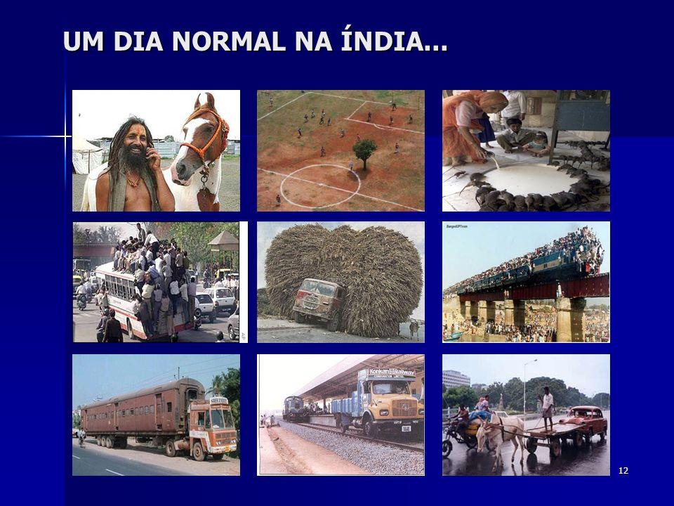 12 UM DIA NORMAL NA ÍNDIA...