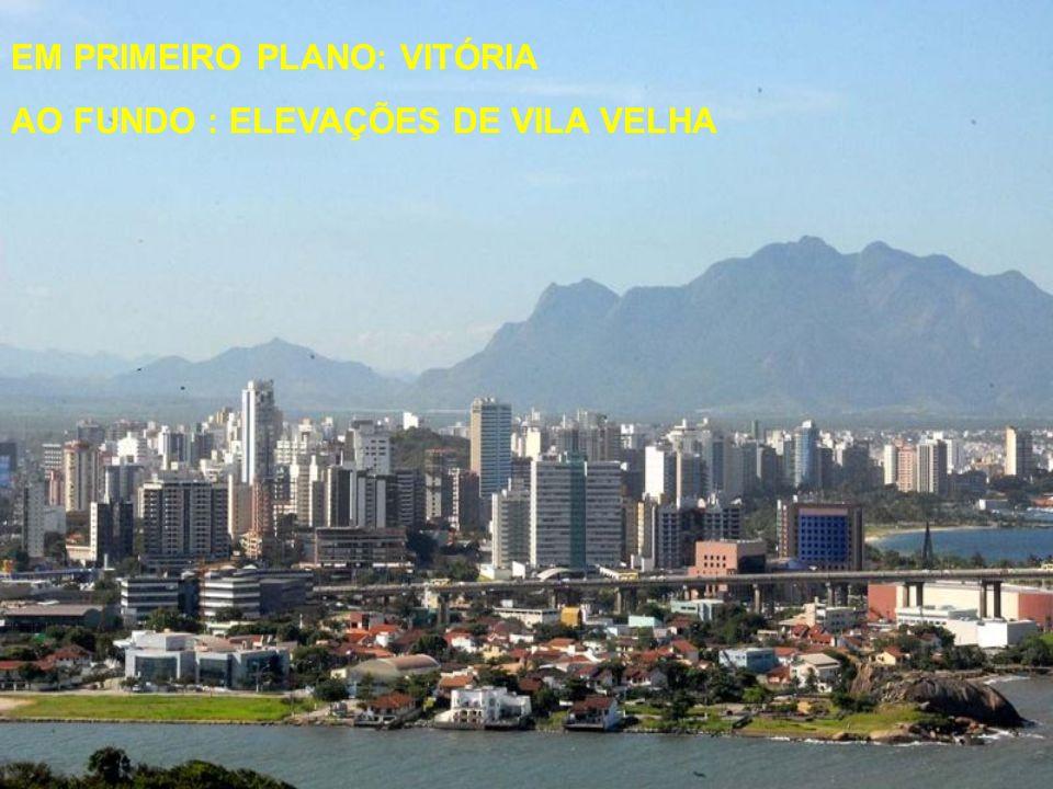 MAIS HISTÓRIA Circundado pela Baía de Vitória e pelo estuário formado pelos rios Santa Maria, Marinho, Bubu e Aribiri, o município apresenta ilhas, en