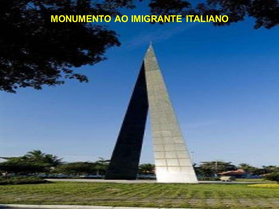 ATRATIVOS CONTEMPORÂNEOS Monumento ao Imigrante; Ponte da Passagem; Praça do Papa; Praça dos Namorados e dos Desejos