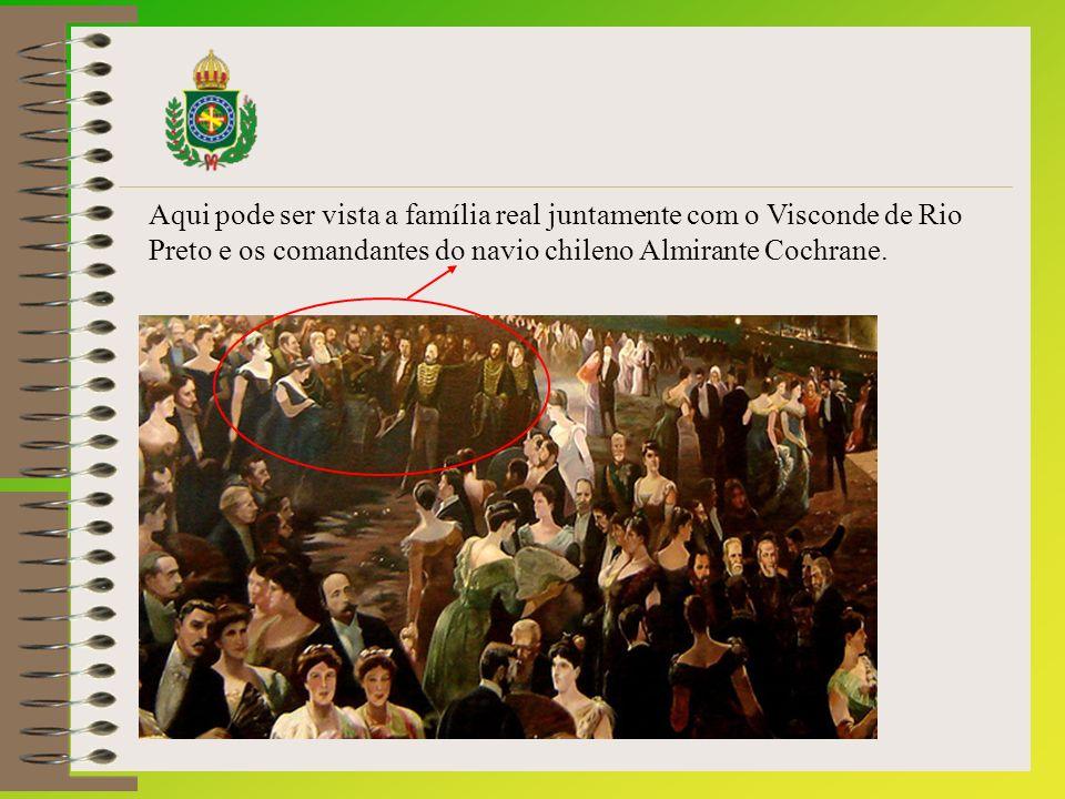 Autores comentam que naquele quadro existem mensagens subliminares, sendo as principais a coroação que não ocorreu da princesa Isabel e a movimentação do grupo republicano para tomar o poder.