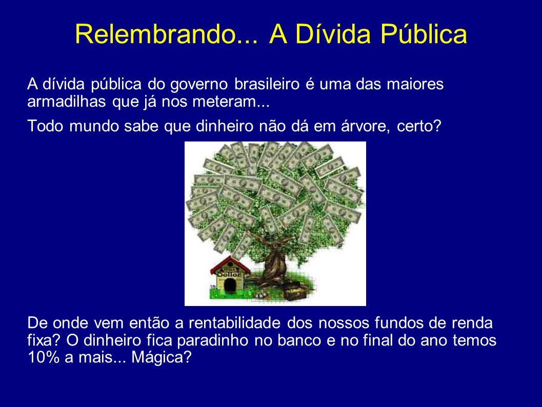 Privatizações A Vale do Rio Doce foi vendida por R$ 3,4 bilhões.O preço total que o Tesouro Nacional do Brasil recebeu pela venda do controle acionário da empresa equivale hoje a uma fração lucro trimestral.