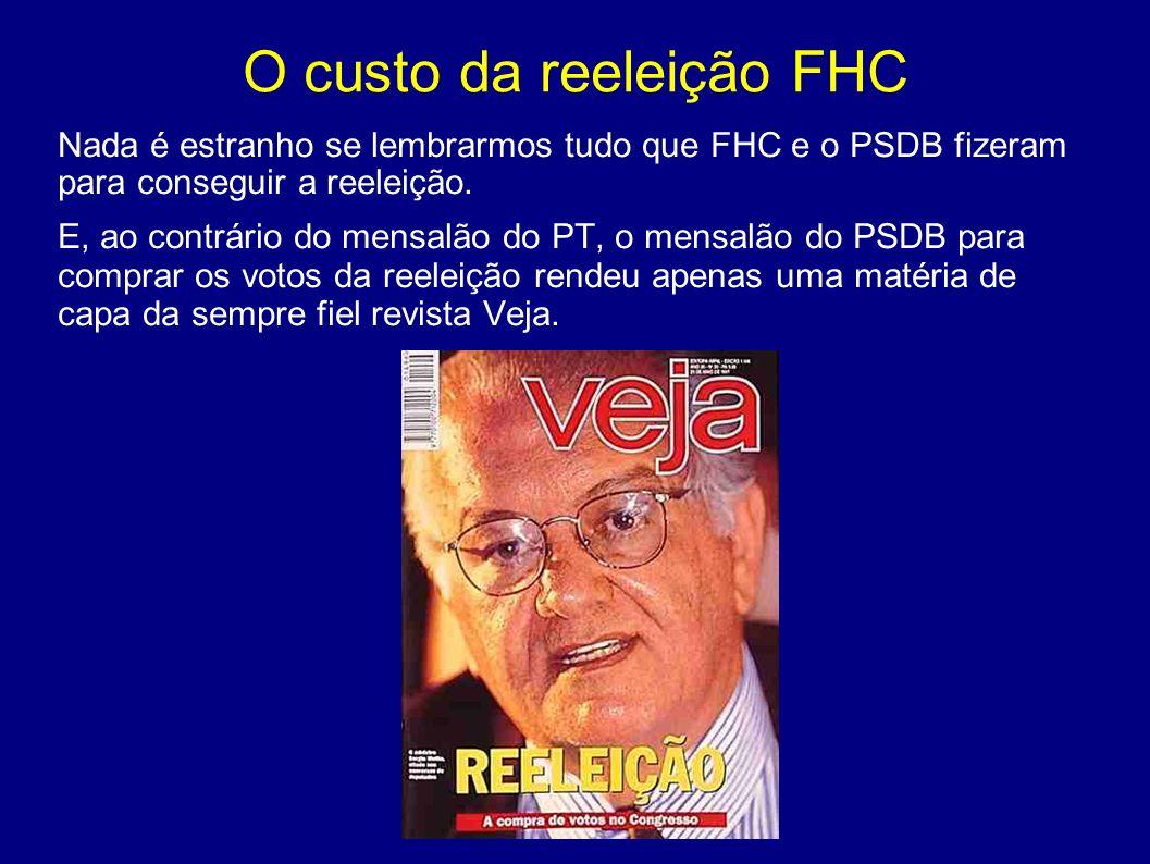 O custo da reeleição FHC Depois de aprovada a emenda constitucional, é preciso manter a inflação baixa até a eleição.