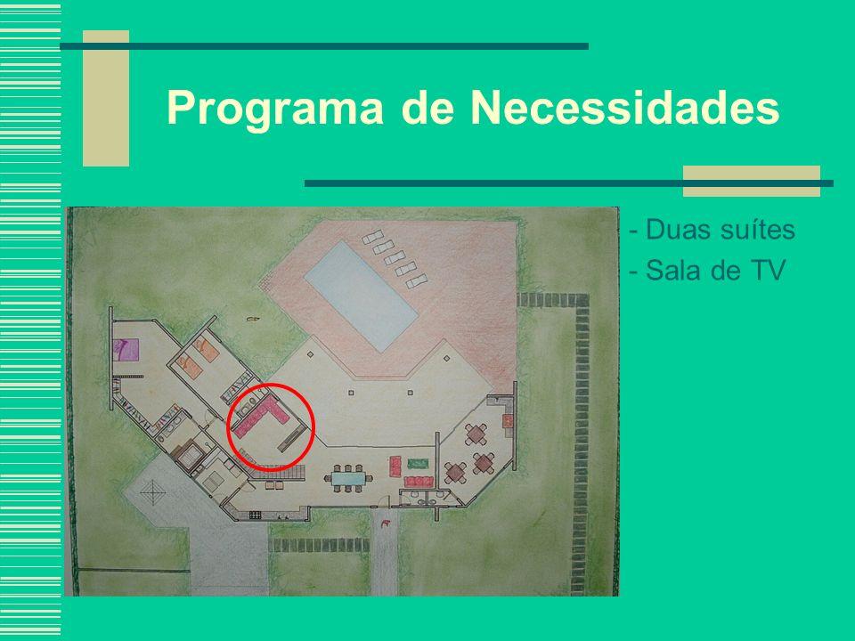 Soluções de Projeto O corrimão pôde ser retirado em virtude de a escada dar acesso a uma área restrita; A foto ao lado assemelha-se à idéia do projeto.