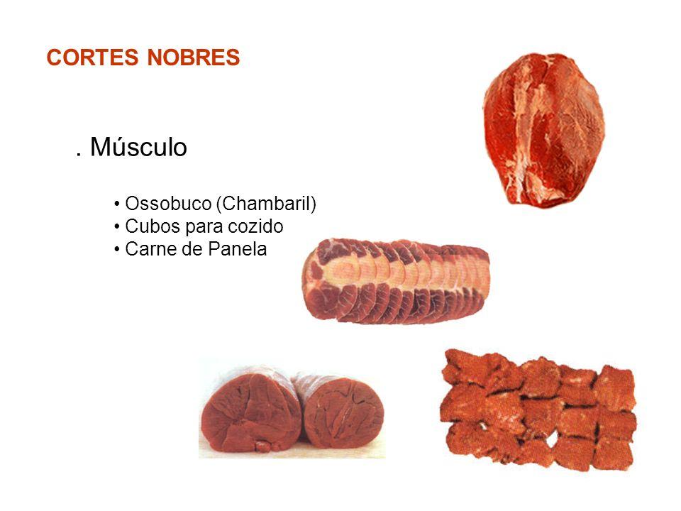 CORTES NOBRES. Músculo Ossobuco (Chambaril) Cubos para cozido Carne de Panela