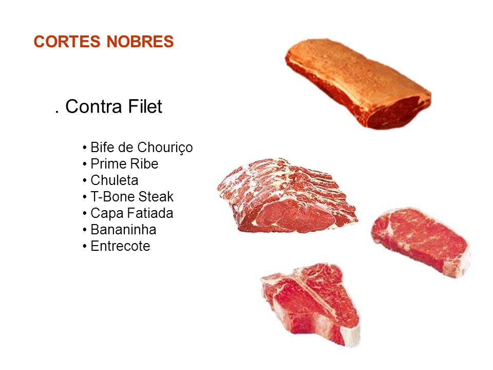 CORTES NOBRES. Contra Filet Bife de Chouriço Prime Ribe Chuleta T-Bone Steak Capa Fatiada Bananinha Entrecote