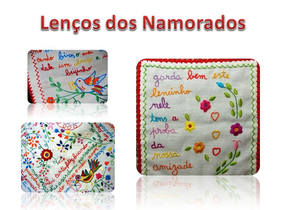 O Lenço dos Namorados é um lenço de linho fino ou de algodão, típico do Minho.