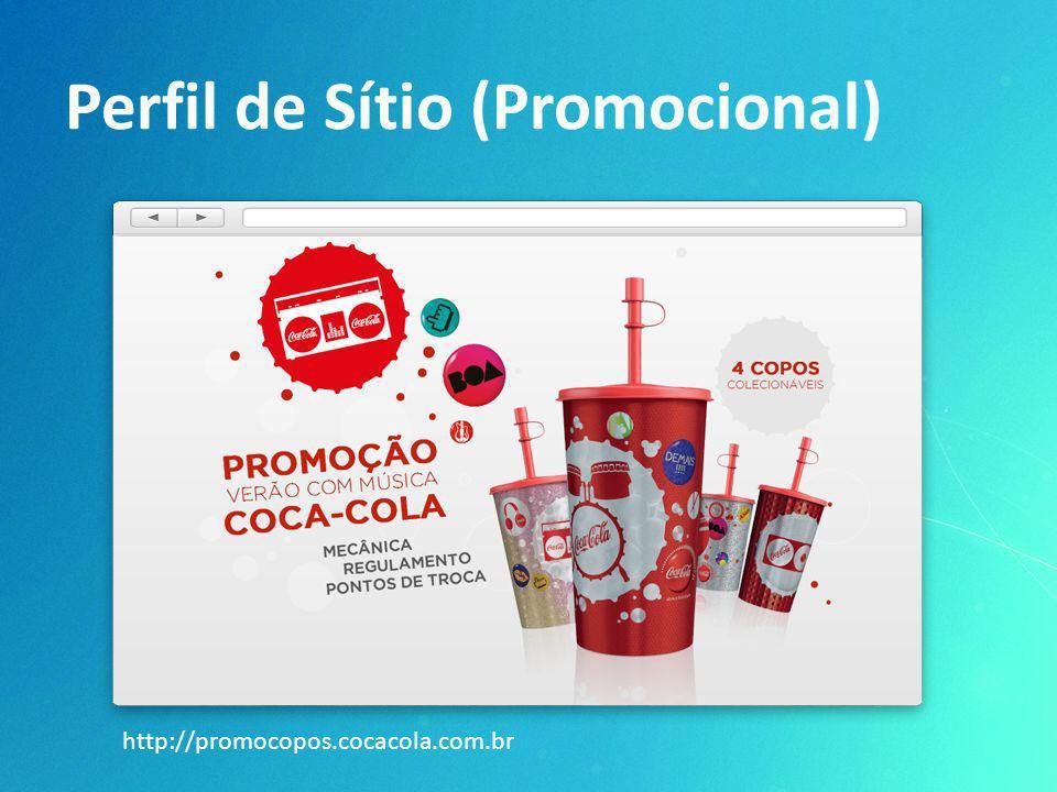 Perfil de Sítio (Promocional) http://promocopos.cocacola.com.br