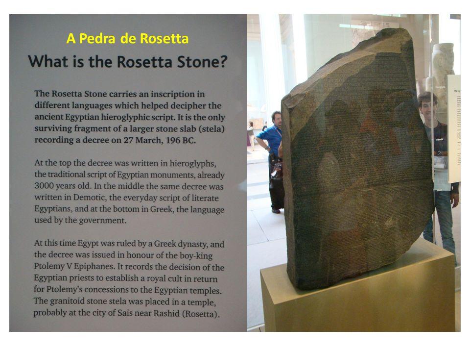 A Pedra de Rosetta