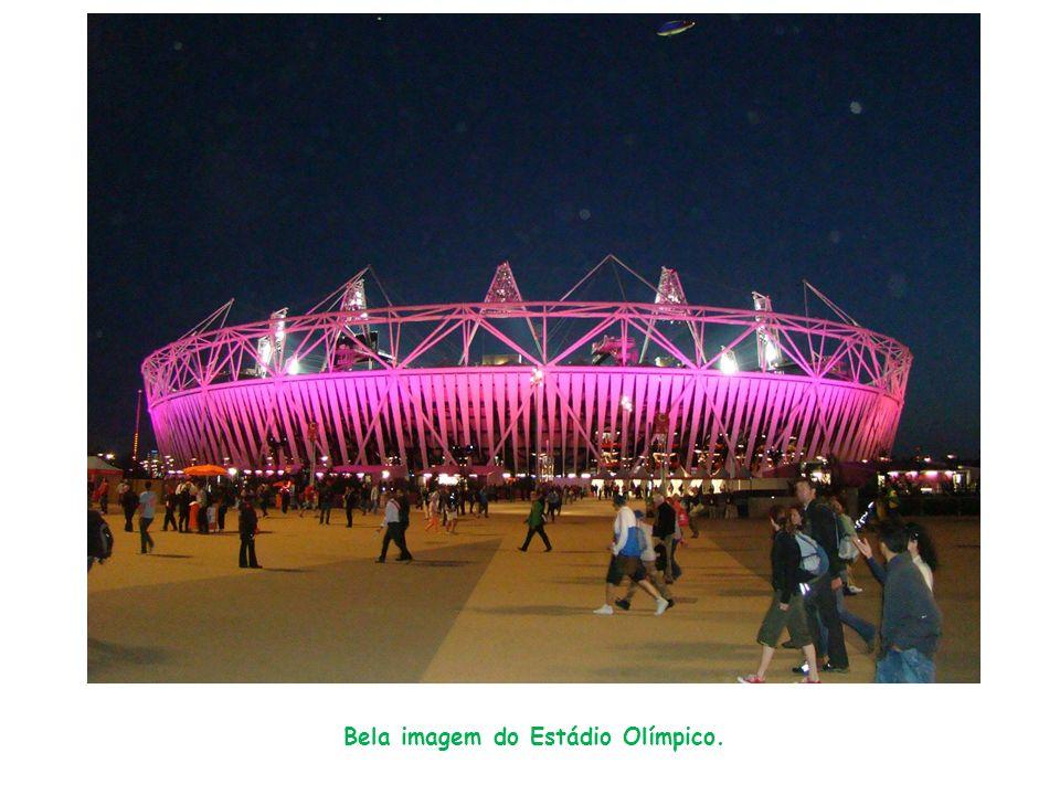 Bela imagem do Estádio Olímpico.