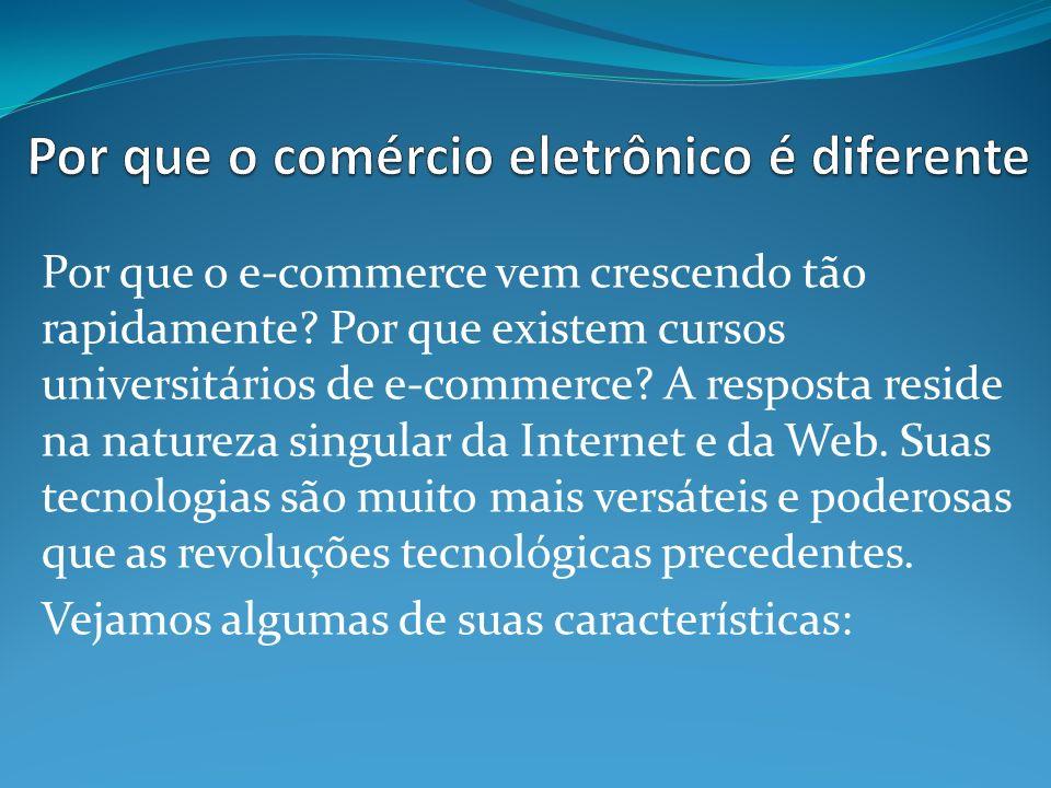 Por que o e-commerce vem crescendo tão rapidamente.