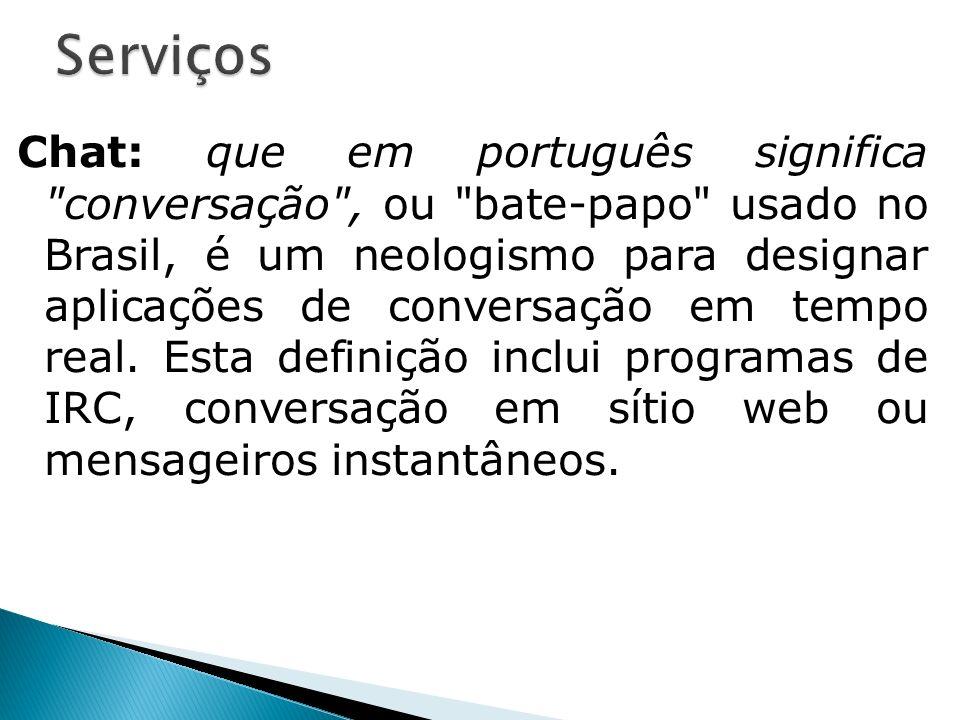 Chat: que em português significa