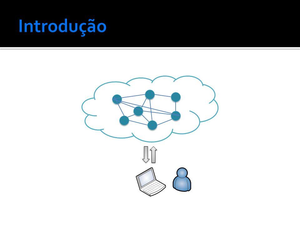 A computação em nuvem vem ganhando espaço As pesquisas na área tem aumentado Eucalyptus, CloudSim, Microsoft Azura,...