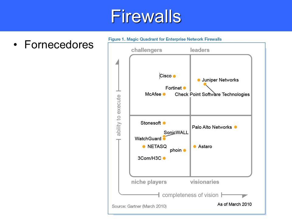Firewalls Fornecedores