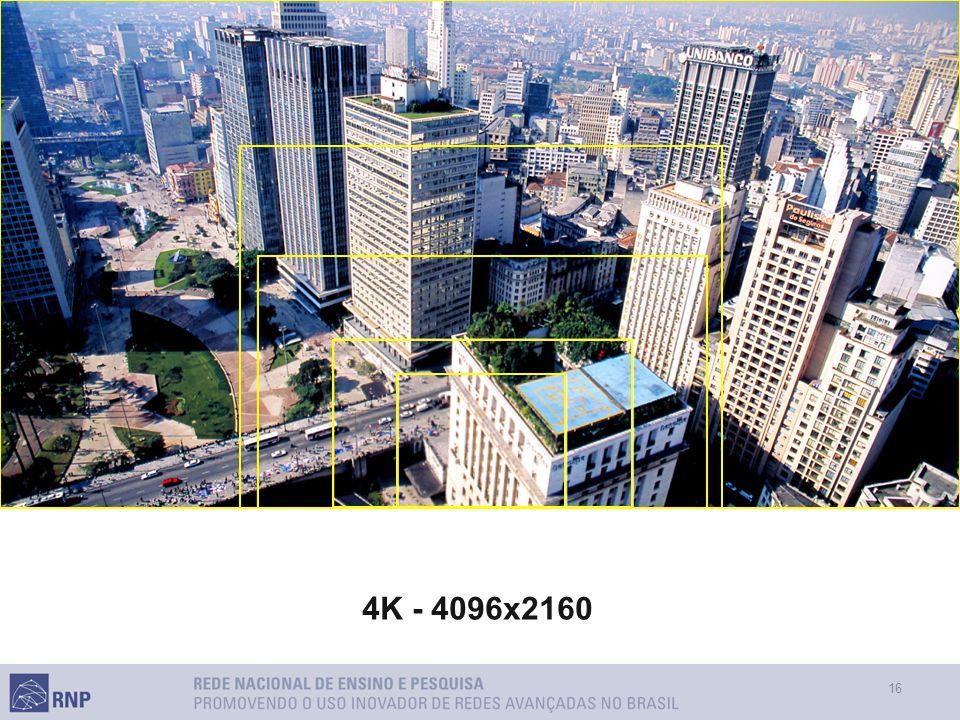 16 4K - 4096x2160