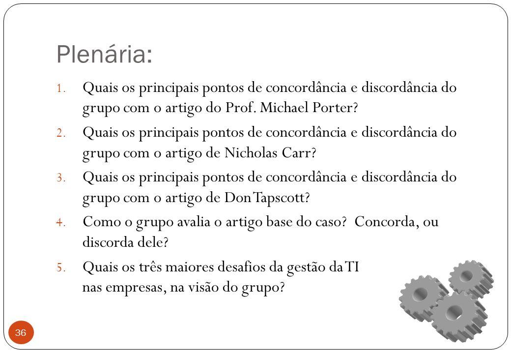 Plenária: 1.