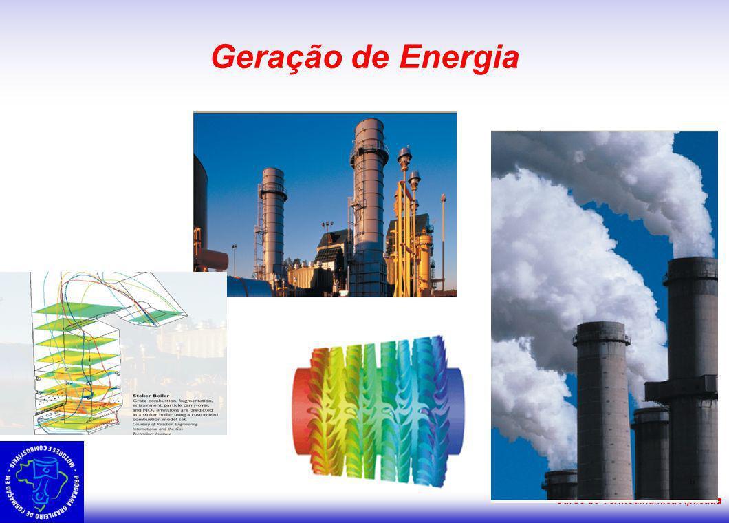 Curso de Termodinâmica Aplicada Geração de Energia