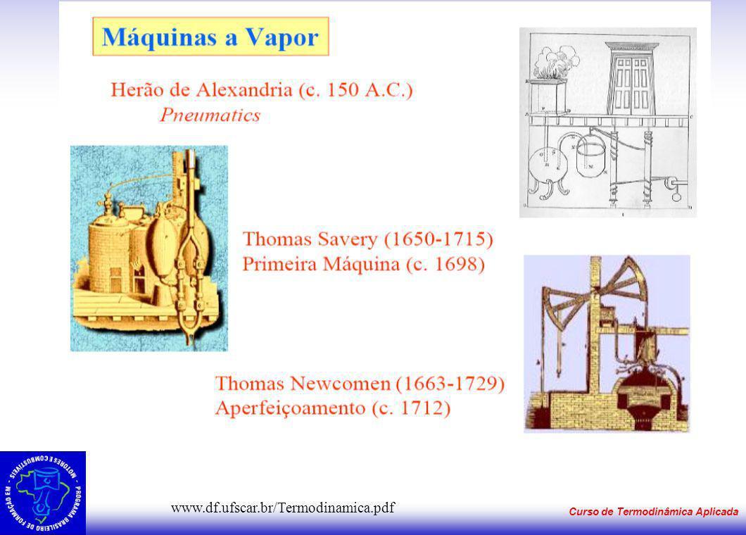 Curso de Termodinâmica Aplicada www.df.ufscar.br/Termodinamica.pdf