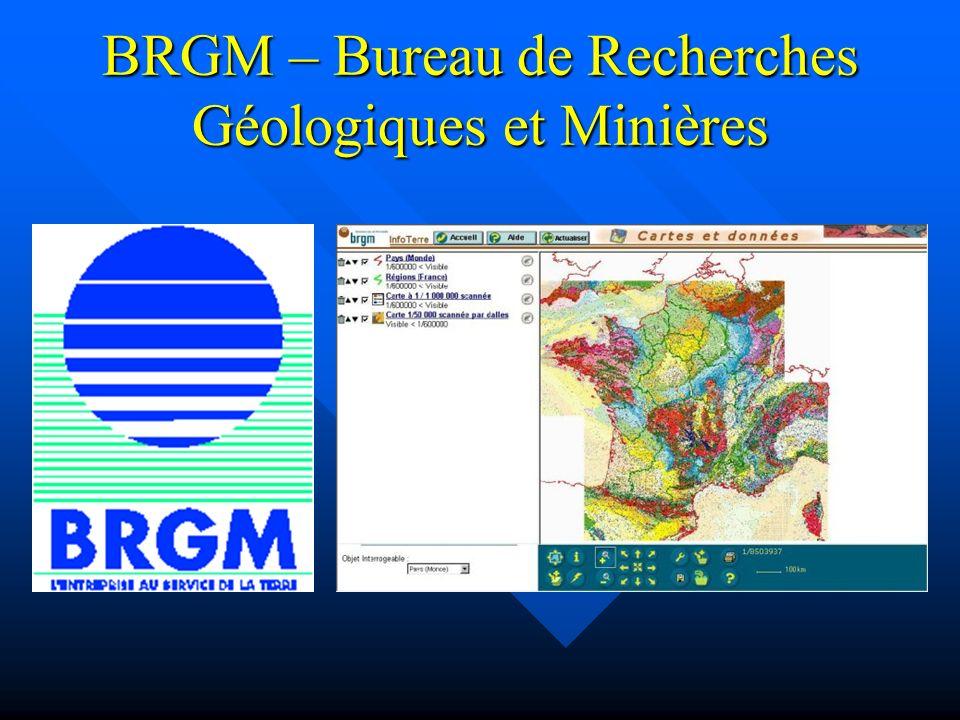 BRGM – Bureau de Recherches Géologiques et Minières