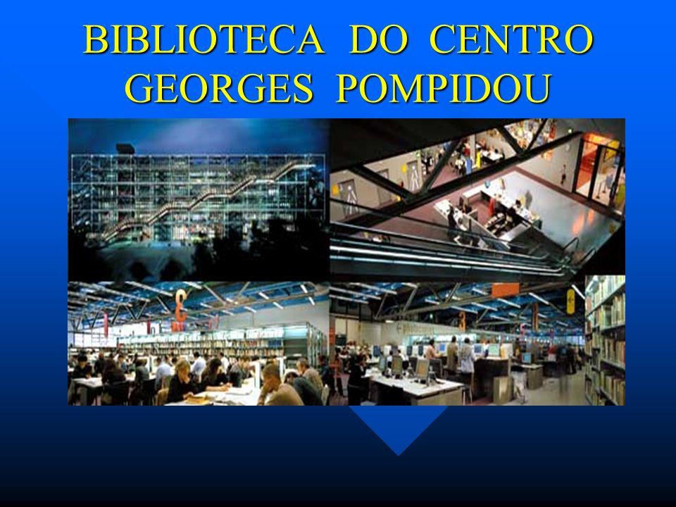 BIBLIOTECA DO CENTRO GEORGES POMPIDOU