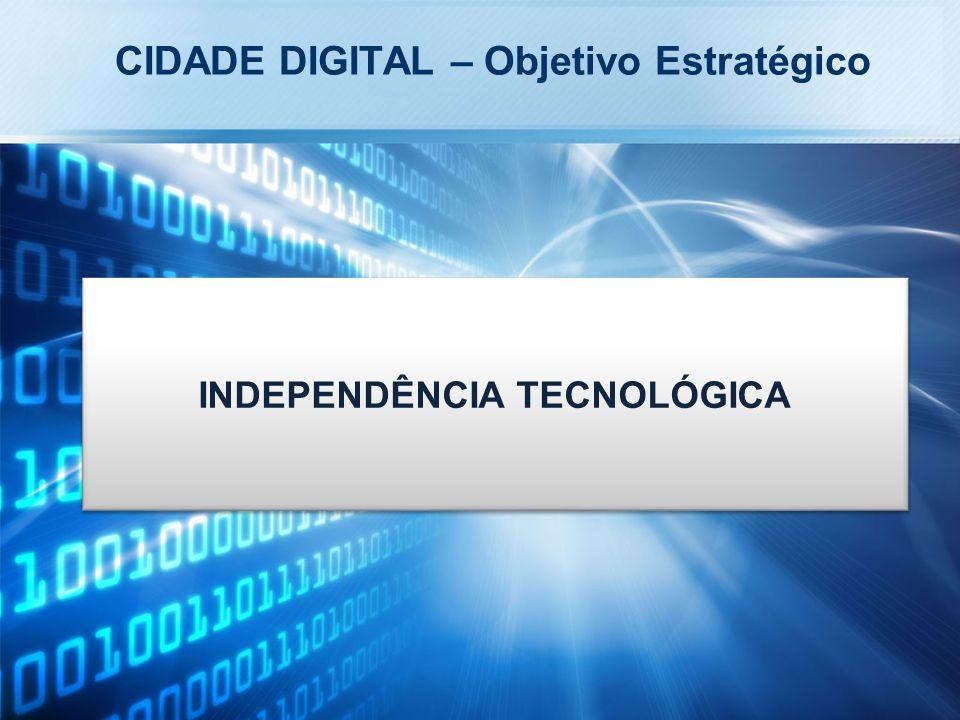 INDEPENDÊNCIA TECNOLÓGICA CIDADE DIGITAL – Objetivo Estratégico